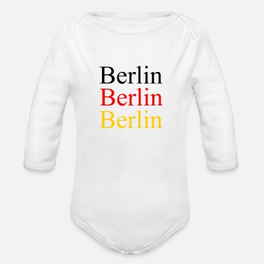 National Colours Berlin - Deutschland - Germany - National Colours - Organic Long-Sleeved Baby Bodysuit
