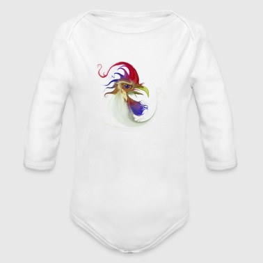 You know ... A lot of problems at the chicken coop - Organic Long Sleeve Baby Bodysuit