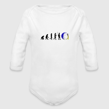 Evolution Golf Golfing Golf Evo - Organic Long Sleeve Baby Bodysuit