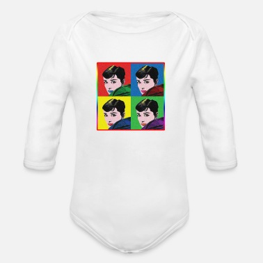Pop Art POP ART - Organic Long-Sleeved Baby Bodysuit