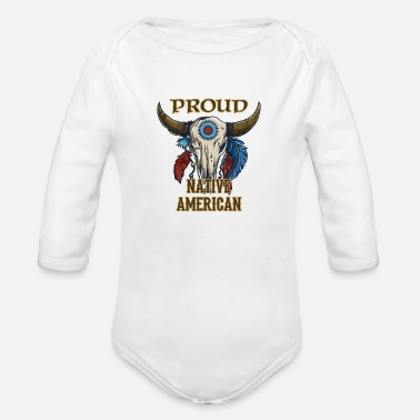 Proud Native American Proud Native American - Organic Long-Sleeved Baby Bodysuit