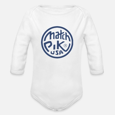 Pik Match Pik USA - Organic Long-Sleeved Baby Bodysuit