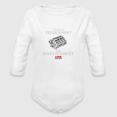 DISPLACEMENT - Organic Long Sleeve Baby Bodysuit