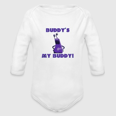 Buddy's My Buddy - Organic Long Sleeve Baby Bodysuit