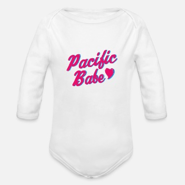 Pacific Pacific Babe - Organic Long Sleeve Baby Bodysuit