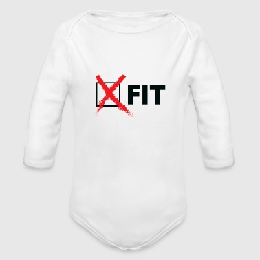 CROSSFIT - Organic Long Sleeve Baby Bodysuit