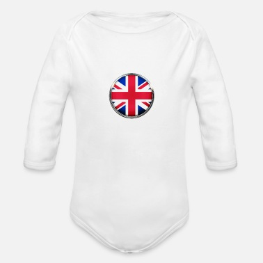 United Kingdom United Kingdom - Organic Long-Sleeved Baby Bodysuit