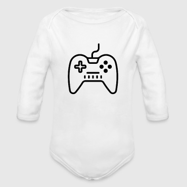 Game Video Games - Organic Long Sleeve Baby Bodysuit