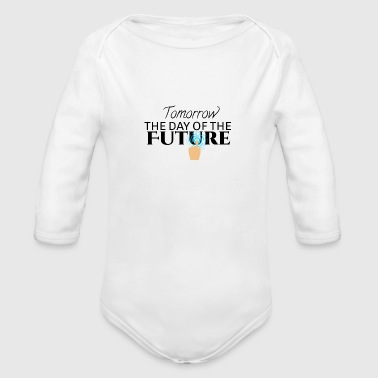 Tomorrow - Organic Long Sleeve Baby Bodysuit