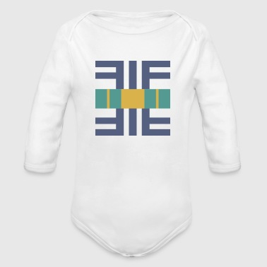Shape - Organic Long Sleeve Baby Bodysuit
