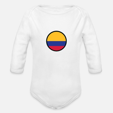 Marked By Colombia - Organic Long-Sleeved Baby Bodysuit
