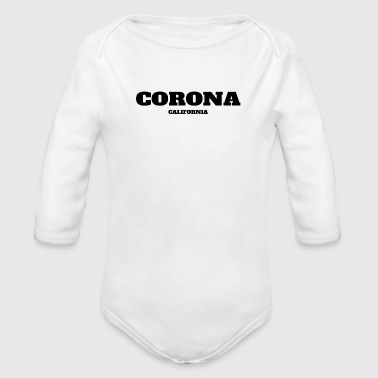 CALIFORNIA CORONA US EDITION - Organic Long Sleeve Baby Bodysuit