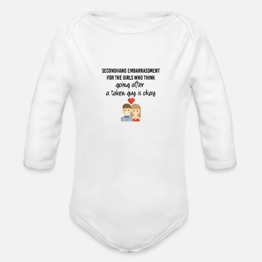 Embarrassing Secondhand embarrassment - Organic Long-Sleeved Baby Bodysuit
