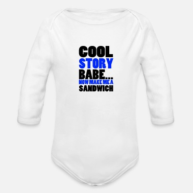 Cool Story Cool story - Organic Long-Sleeved Baby Bodysuit