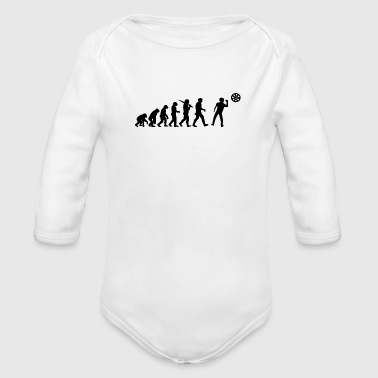 Darts Darts player - Organic Long Sleeve Baby Bodysuit