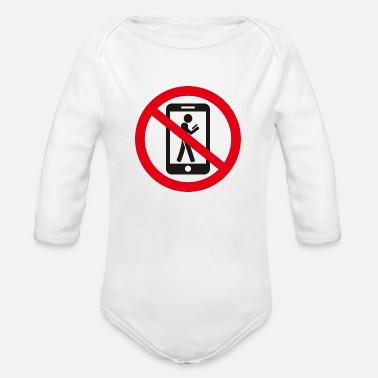 Prohibited the prohibition - Organic Long-Sleeved Baby Bodysuit