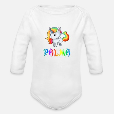 Palma Palma Unicorn - Organic Long-Sleeved Baby Bodysuit