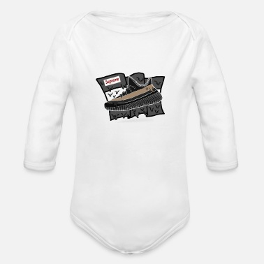 Yeezy Yeezy Supreme - Organic Long-Sleeved Baby Bodysuit