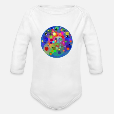 Planet planet of the planets - Organic Long Sleeve Baby Bodysuit