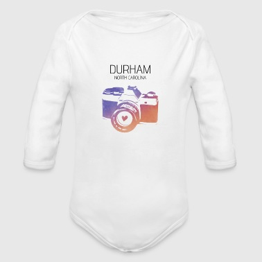 Camera Durham - Organic Long Sleeve Baby Bodysuit