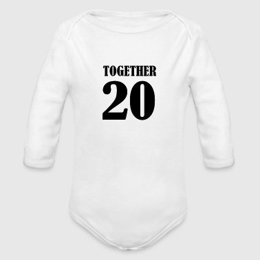 Together - Organic Long Sleeve Baby Bodysuit