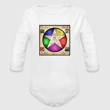 The Elements - Organic Long Sleeve Baby Bodysuit