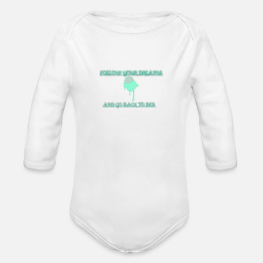 Dream Dreams - Organic Long Sleeve Baby Bodysuit