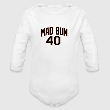 Bum MAD BUM - Organic Long Sleeve Baby Bodysuit