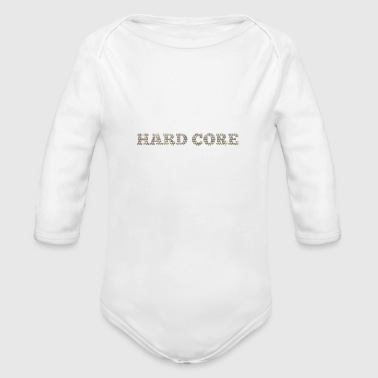 Hard-core Hard core - Organic Long Sleeve Baby Bodysuit