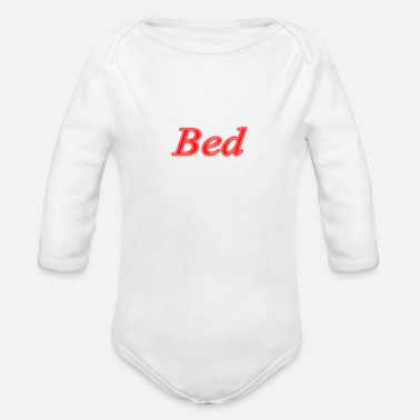 Bed Bed - Organic Long-Sleeved Baby Bodysuit