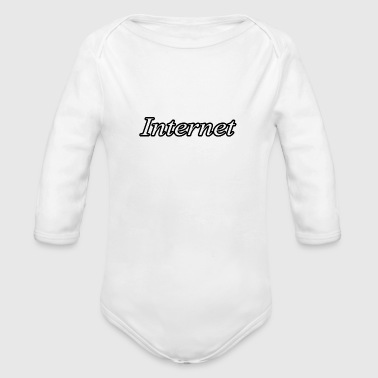 Internet - Organic Long Sleeve Baby Bodysuit