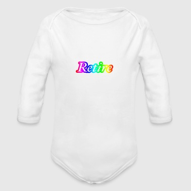 Retire - Organic Long Sleeve Baby Bodysuit
