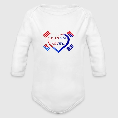 Kara Kpop Girl Korean Kdrama Seoul Namsan shirt - Organic Long Sleeve Baby Bodysuit