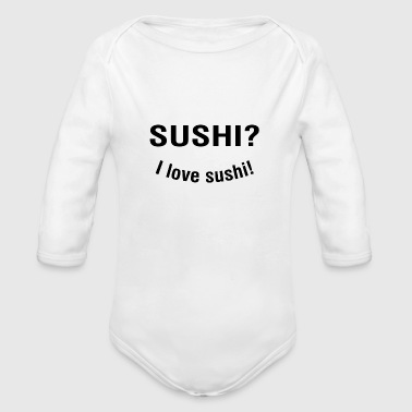 Asian asian - Organic Long Sleeve Baby Bodysuit