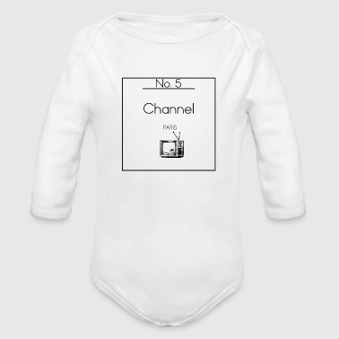 Channel No. 5 - Organic Long Sleeve Baby Bodysuit