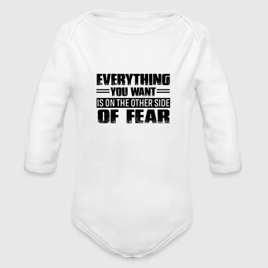 Motivation - Organic Long Sleeve Baby Bodysuit