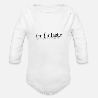 Fantastic fantastic - Organic Long-Sleeved Baby Bodysuit
