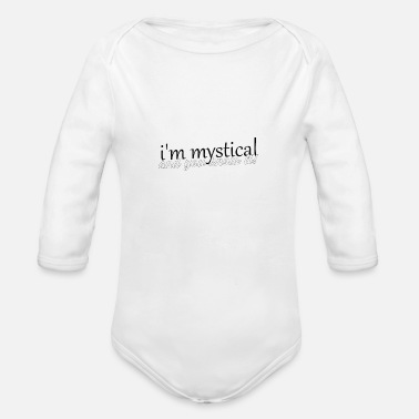 Mystic mystical - Organic Long-Sleeved Baby Bodysuit