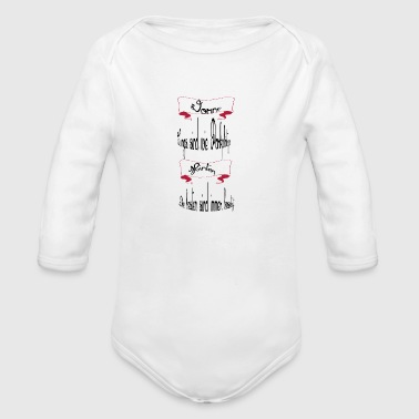 parking - Organic Long Sleeve Baby Bodysuit
