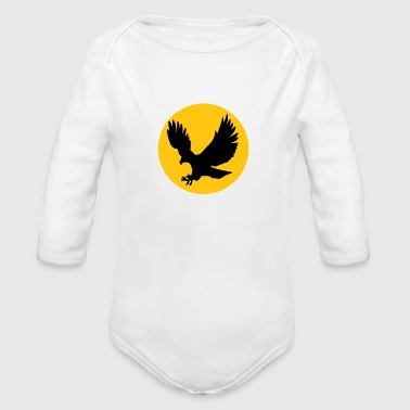 Eagle Eagle Eagle - Organic Long Sleeve Baby Bodysuit