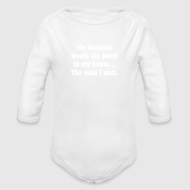 70 - Organic Long Sleeve Baby Bodysuit