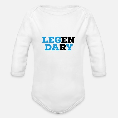 Legendary Legendary - Organic Long-Sleeved Baby Bodysuit