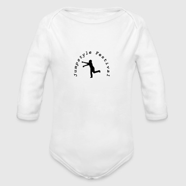 Jumpstyle Festival - Organic Long Sleeve Baby Bodysuit