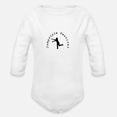 Jumpstyle Jumpstyle Festival - Organic Long-Sleeved Baby Bodysuit