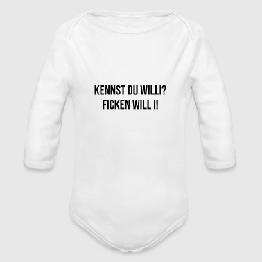 Provocation saying funny provocative maid wife gift - Organic Long Sleeve Baby Bodysuit