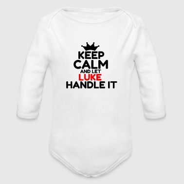 LUKE - Organic Long Sleeve Baby Bodysuit