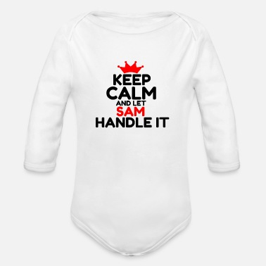 Sam SAM - Organic Long Sleeve Baby Bodysuit