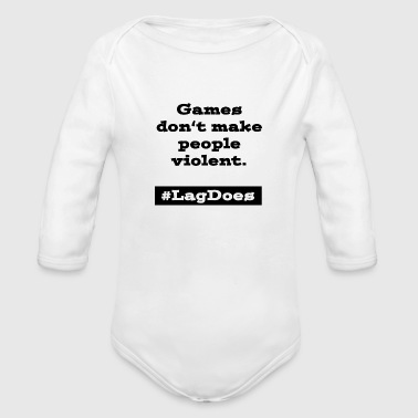 Video Game - Organic Long Sleeve Baby Bodysuit