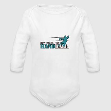 Handball - Organic Long Sleeve Baby Bodysuit