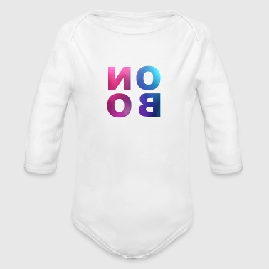 Noob NooB ! - Organic Long Sleeve Baby Bodysuit